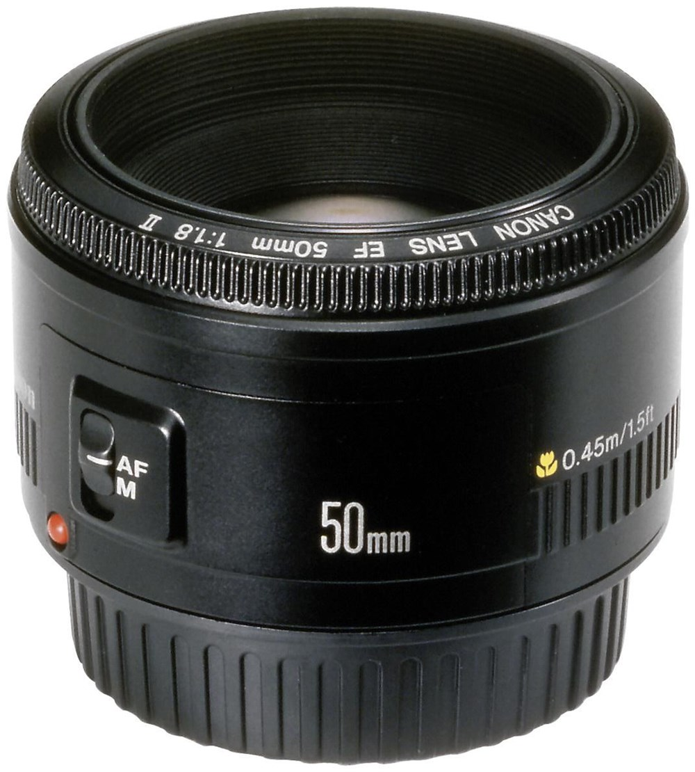Canon-EF-50-1-8-II-SLR-Objektiv