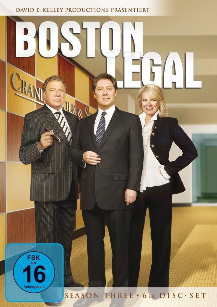 Fox Boston Legal Season 3, DVD