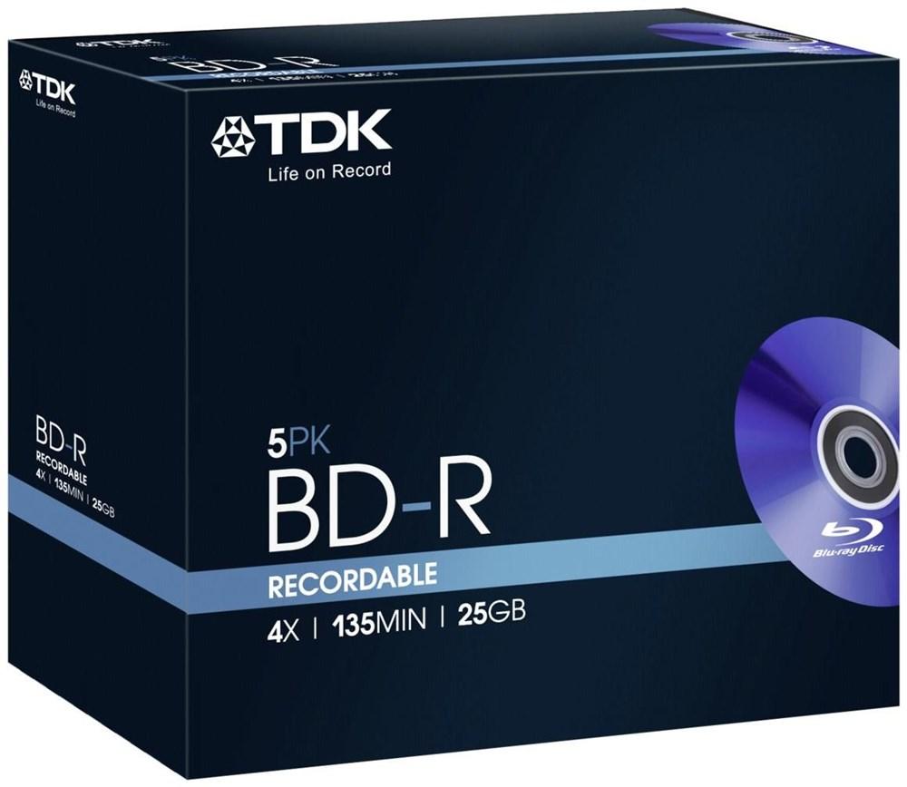 TDK BD-R 25GB 4X t78008