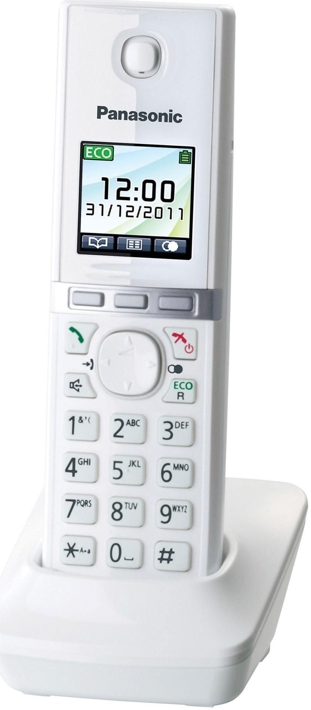 Panasonic KX-TG806EXW Mobilteil weiss (Telefon) KXTGA806EXW
