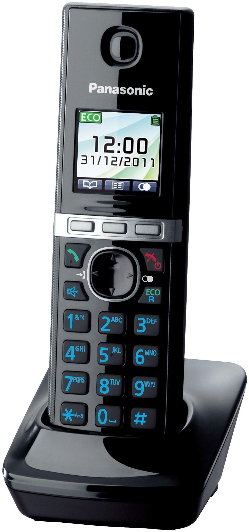 Panasonic KX-TG806EXB Mobilteil schwarz (Telefon) KXTGA806EXB