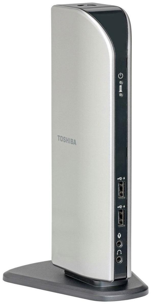 Toshiba Dynadock U10 Port-Replikator LAN, 6x USB2.0, DVI, VGA, S ...