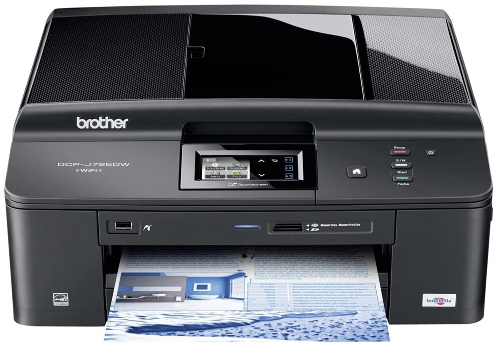 Brother DCP J725DW A4 schwarz