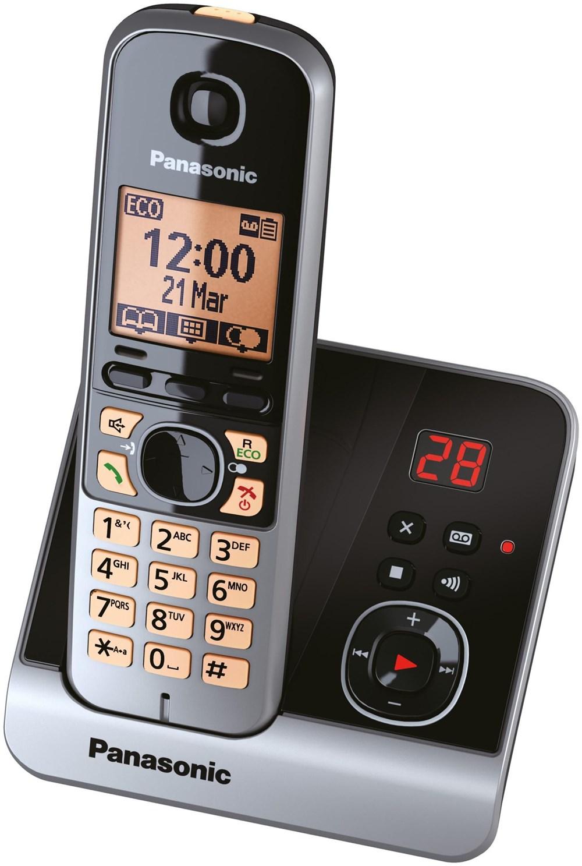 Panasonic KX-TG6721GB schwarz KXTG6721GB