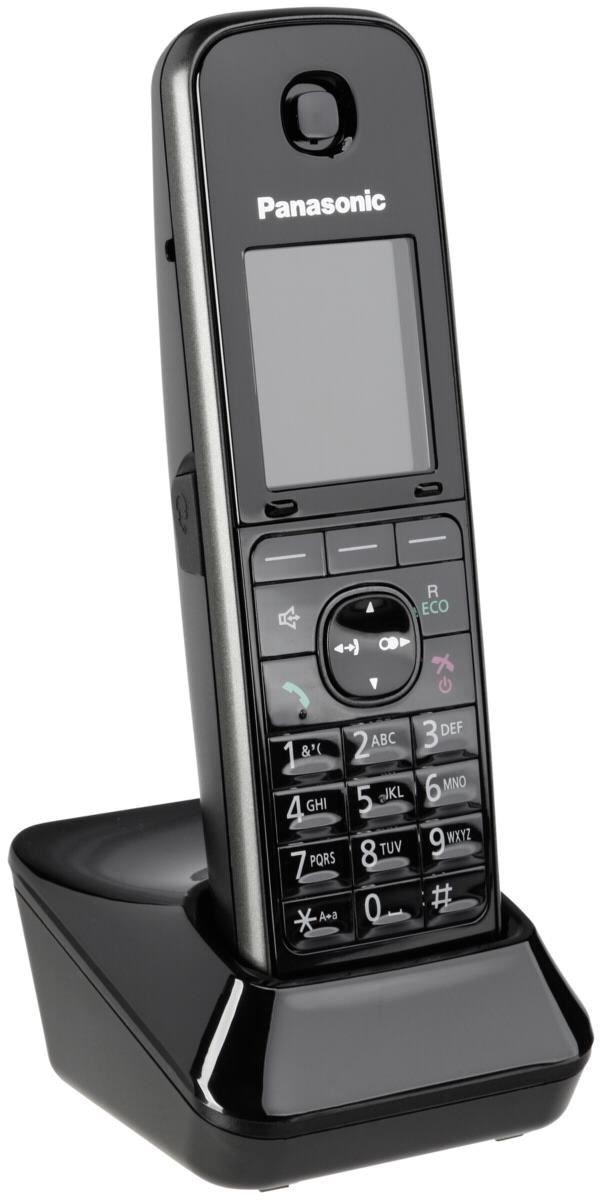 Panasonic KX-TGA 815 EXB Mobilteil für KX-TG81xx Serie schwarz (Telefon) 1261502EG716677