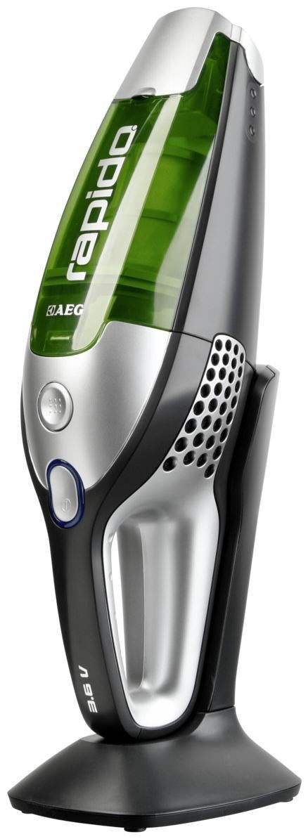 AEG Electrolux AEG AG 4103 Rapido Akku-Handsauger granit-grau/gr&#252;n AG4103Rapido3,6Volt