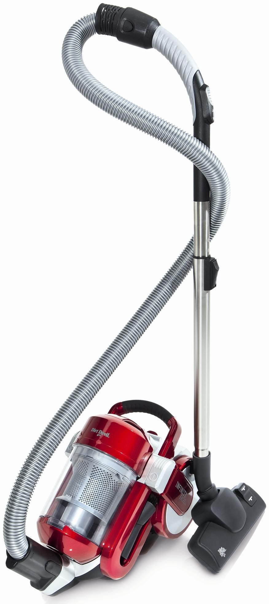 Dirt Devil Infinity Excell rot / silber M5050-5