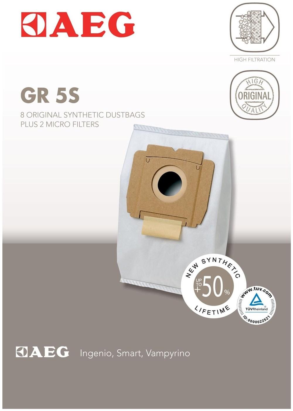 AEG Electrolux AEG Grösse 5S Staubsaugerbeutel 900256540
