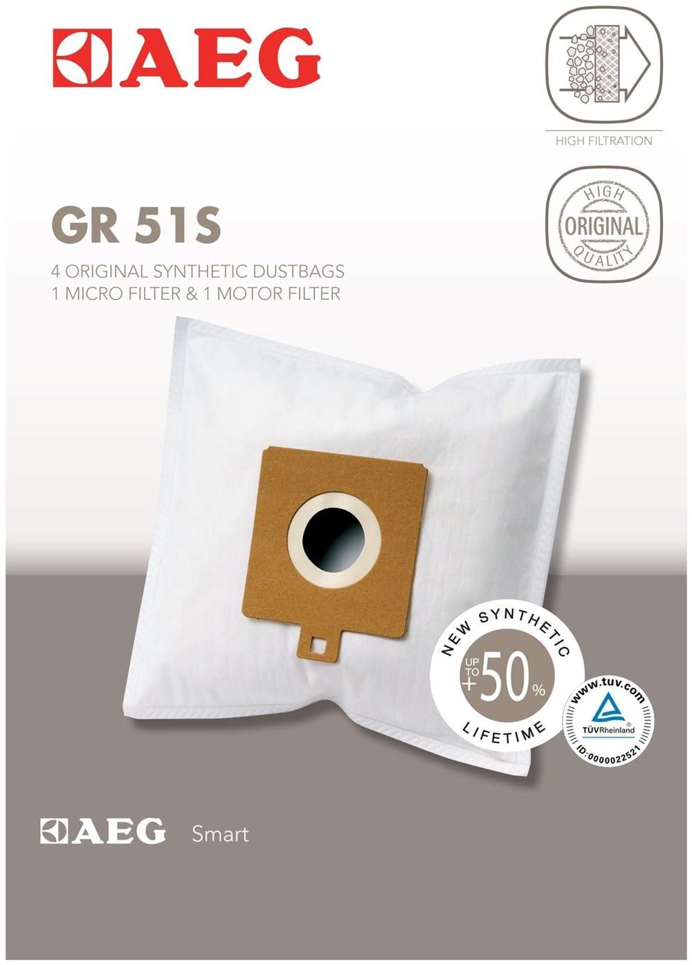 AEG Electrolux AEG Grösse 51S Staubsaugerbeutel 900166740