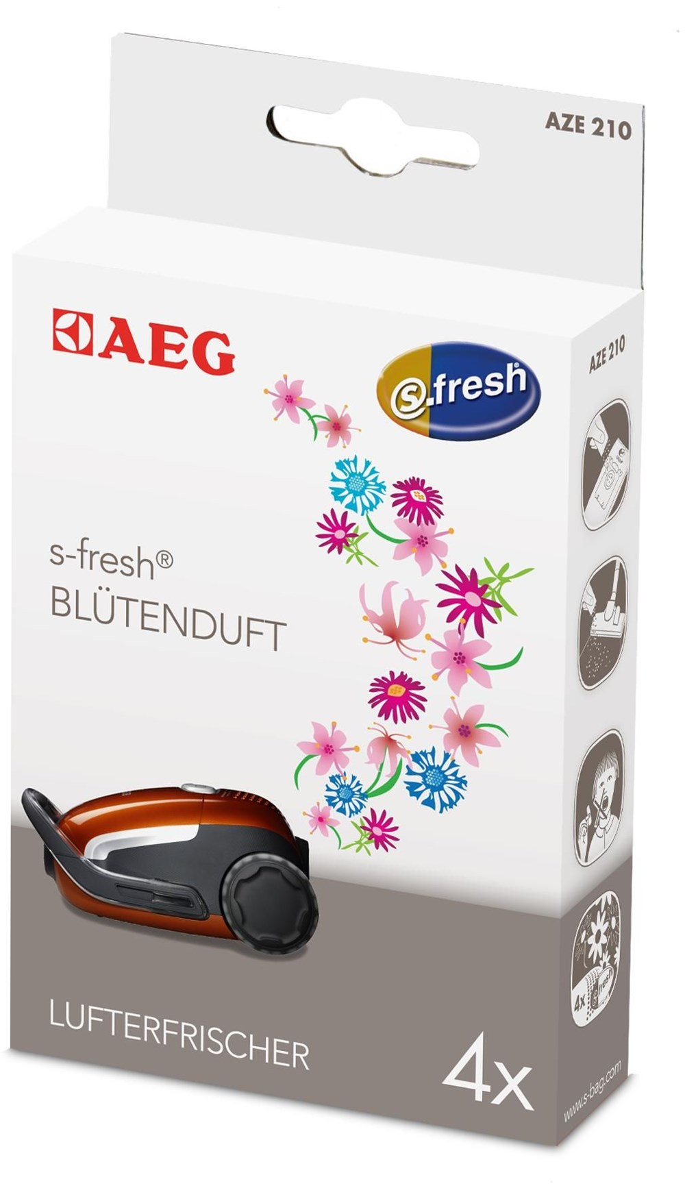 AEG Electrolux AEG AZE210 Lufterfrischer Blütenduft 900166885