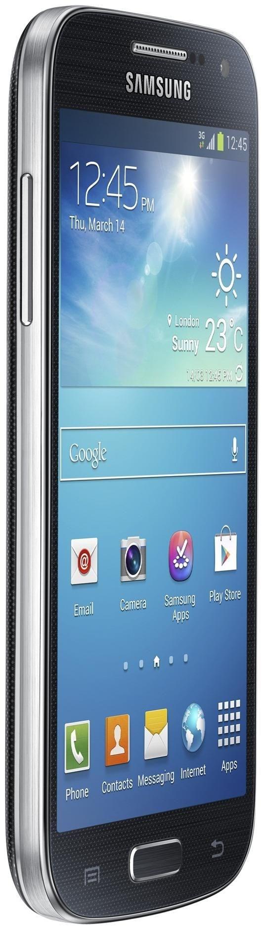 Samsung Galaxy S4 Mini i9195, 8 GB, Smartphone ohne Vertrag/SIMlock, schwarz GT-I9195ZKADBT