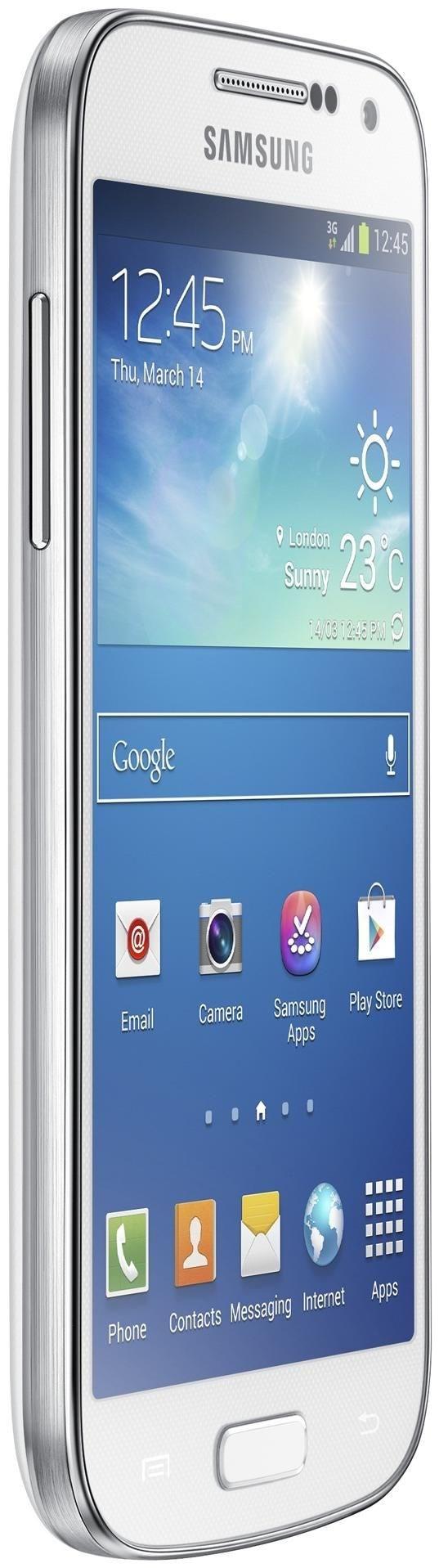 Samsung Galaxy S4 Mini i9195, 8 GB, Smartphone ohne Vertrag/SIMlock, weiß GT-I9195ZWADBT