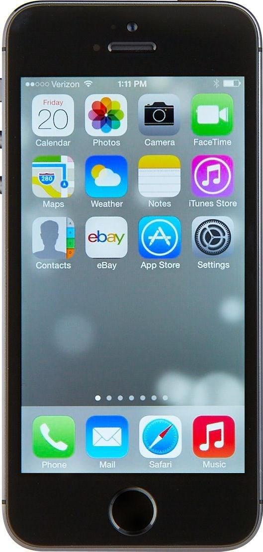 apple iphone 5s 16gb spacegrau ohne simlock ebay. Black Bedroom Furniture Sets. Home Design Ideas