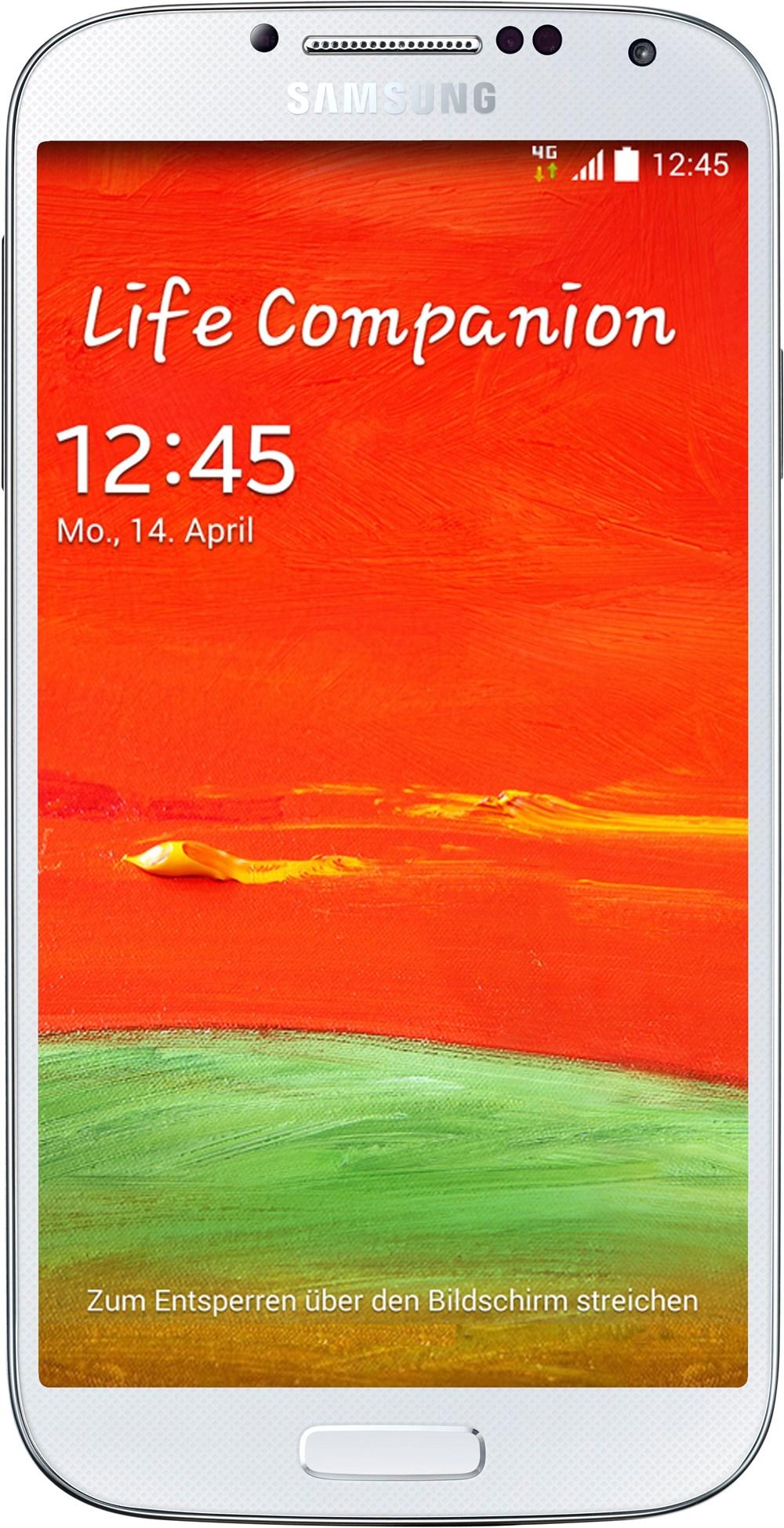 Samsung Galaxy S4 i9515, 16 GB, Smartphone ohne Vertrag/SIMlock, weiß (Handy) GT-I9515ZWADBT