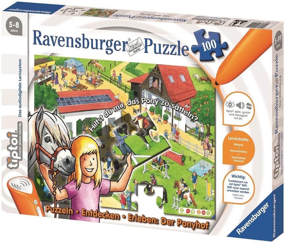 Ravensburger tiptoi® 518 Puzzlen,