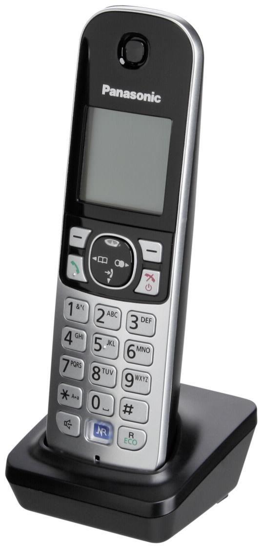 Panasonic KX-TG681EXB Mobilteil inkl. Ladeschale schwarz (Telefon) KX-TGA681EXB
