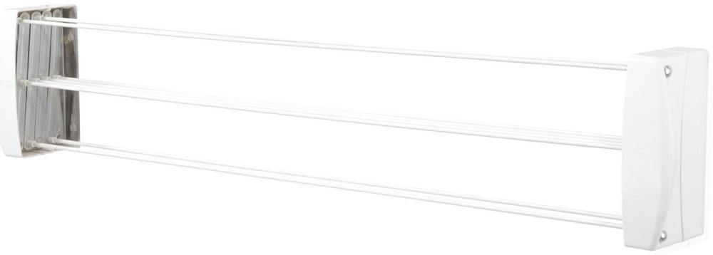 Leifheit 83304 TeleClip 100 weiß (Wäscheständer)