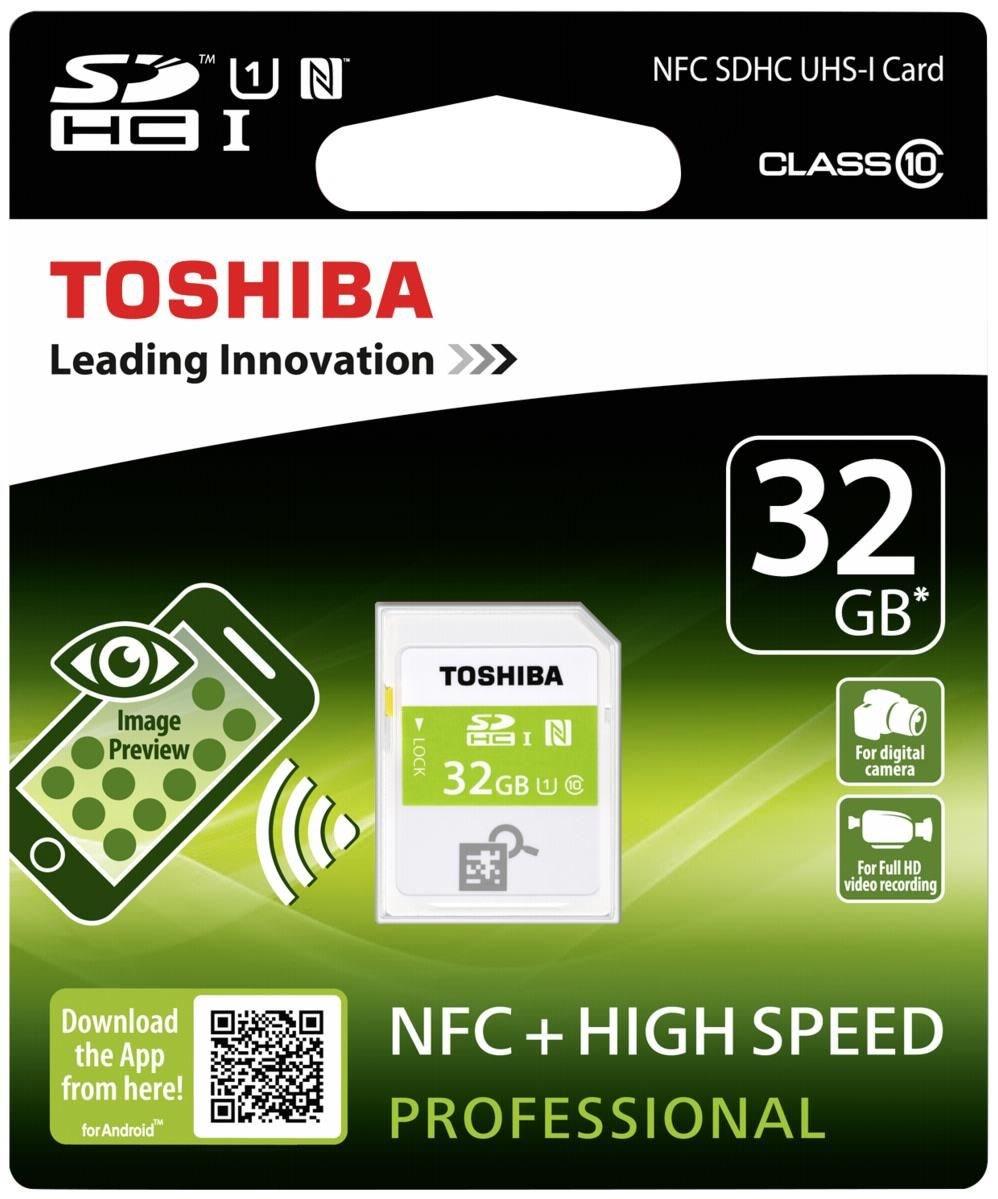 Toshiba SDXC Class 10 High Speed