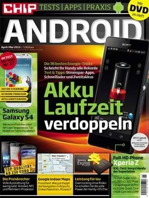 Chip Android Tests, Apps und Praxis April/Mai