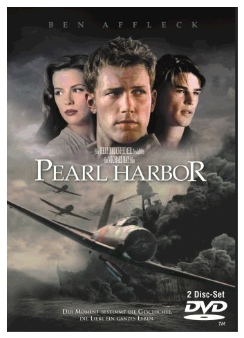 Screens Zimmer 8 angezeig: pearl harbor dvd