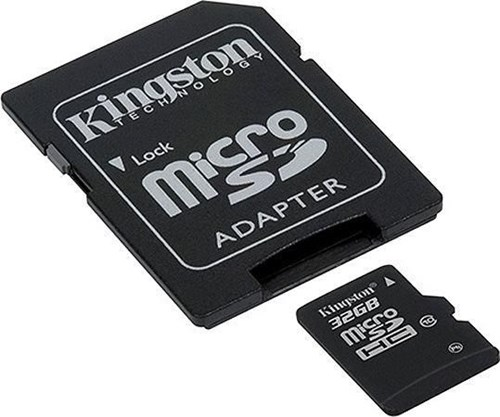 Kingston-microSDHC-32GB-Speicherkarte