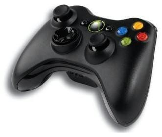 Microsoft-Wireless-Controller-schwarz-inkl-Wireless-PC-Adapter