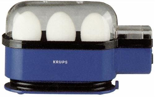Krups F23414 Ovomat Trio Eierkocher blau