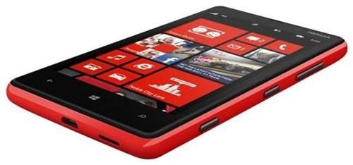 Nokia Lumia 820, 8 GB, Smartphone ohne Vertrag/SIMlock, rot (Handy) A00008818