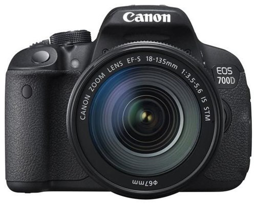 Canon EOS 700D 18-55 IS STM + 55-250 IS DSLR mit Objektivsatz 8596B081