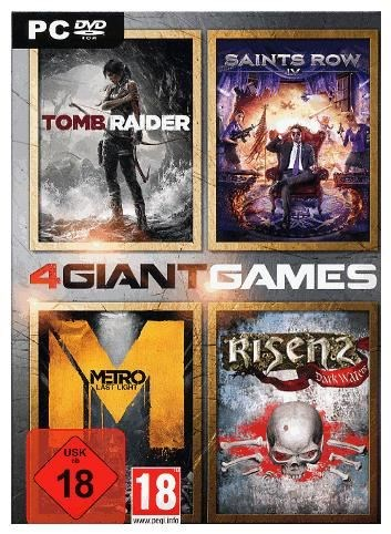 Deep Silver 4 GIANT GAMES (PC) DE-Version 4020628867331