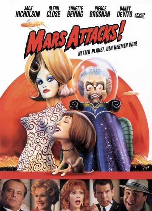Warner Vision Mars Attacks! (Film) 1000051261