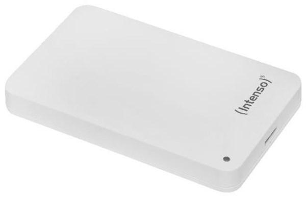 """Intenso Memory Case 500 GB 2.5"""" Zoll USB 3.0 weiß (Externe Festplatte) 6021531"""