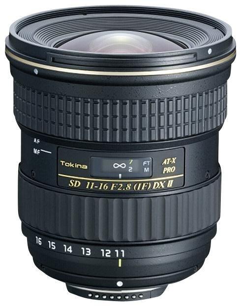 Tokina AT-X 11-16/2.8 Pro DX II C/AF T5111611