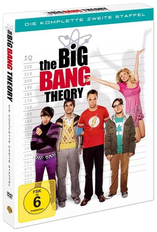 Warner Home Video Big Bang Theory - Staffel 2