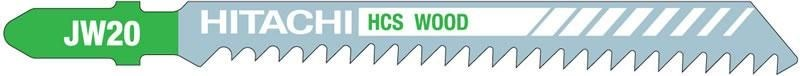 Hitachi Power Tools Hitachi JW20 Stichsägeblätter 5 Stück 750021