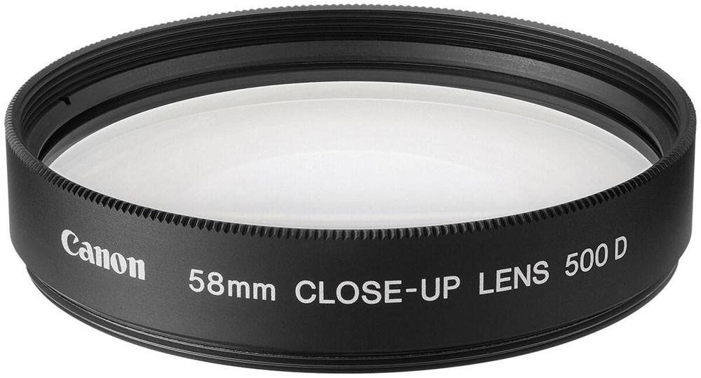 Canon 500D 58mm Makrolinse