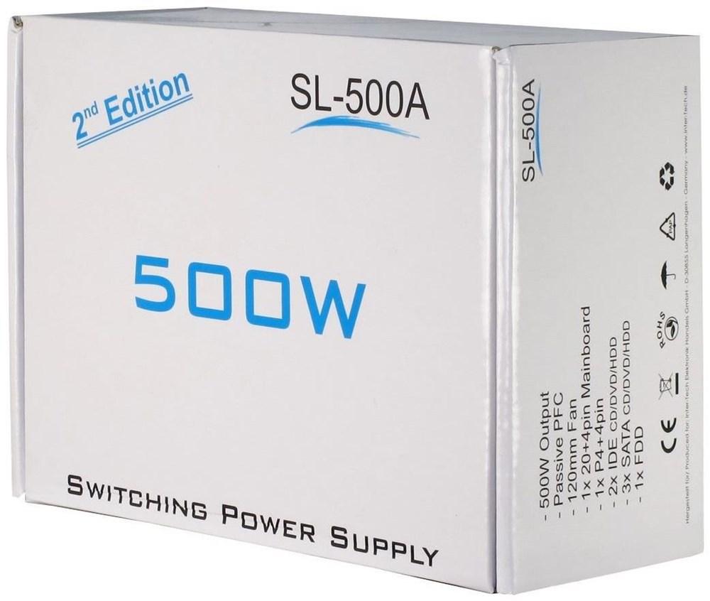 Inter-Tech Netzteil SL-500 500W - Netzteile - computeruniverse