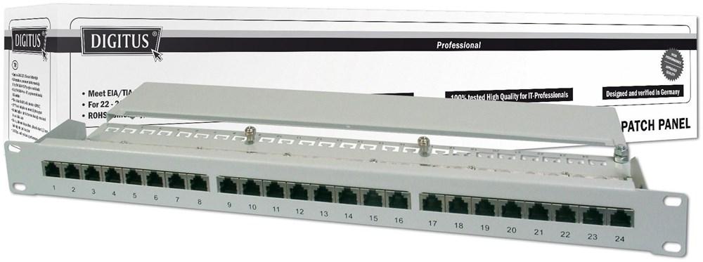 Digitus Patch Panel DN-91624S 19´´ 24-Port Cat6