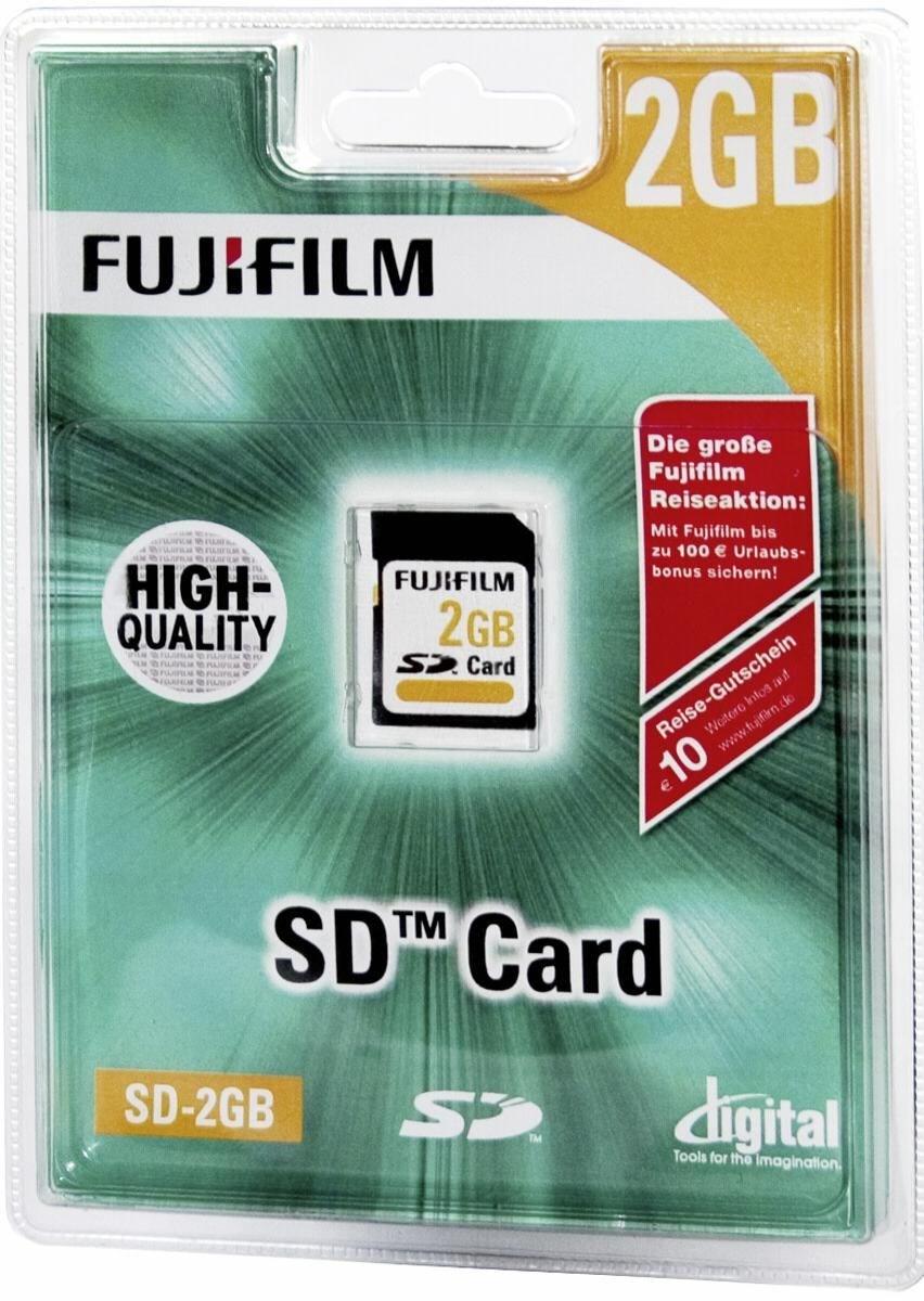 fujifilm sd karte 2gb speicherkarten computeruniverse. Black Bedroom Furniture Sets. Home Design Ideas