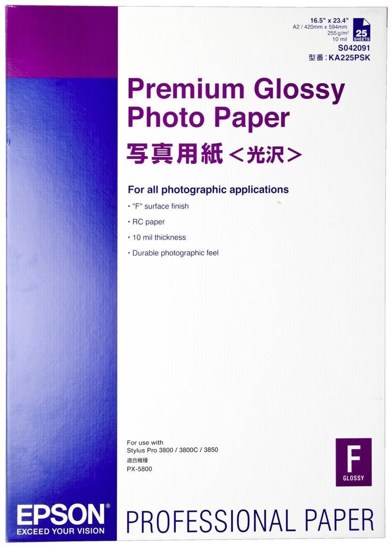 Epson Premium Gloss Foto Papier A2