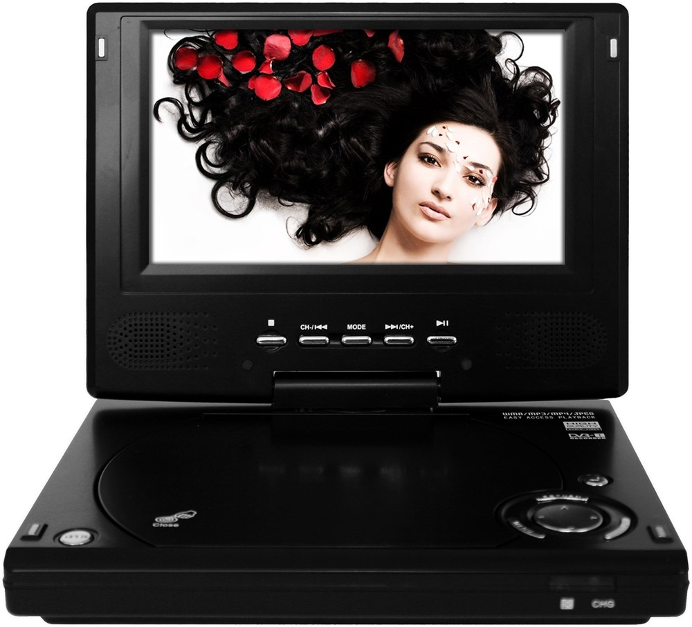axida odys slim tv 700 r vision 18cm 7 dvb t tuner max 4h mini tv player computeruniverse. Black Bedroom Furniture Sets. Home Design Ideas