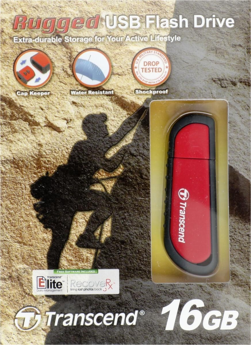 Transcend JetFlash V70 16GB rot - Preisvergleich