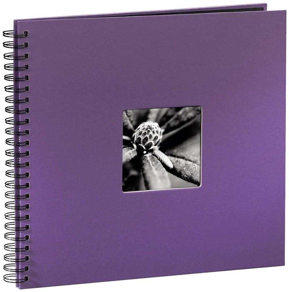 Hama Fine Art Spiralalbum 34x32 lila