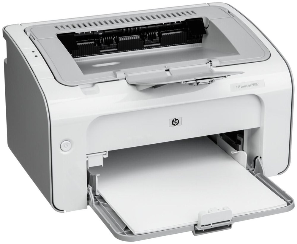 hp laserjet pro p1102 all in one printers computeruniverse. Black Bedroom Furniture Sets. Home Design Ideas