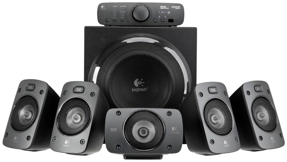 Logitech Z906 5 1 Lautsprechersystem Thx Und Dolby Digital