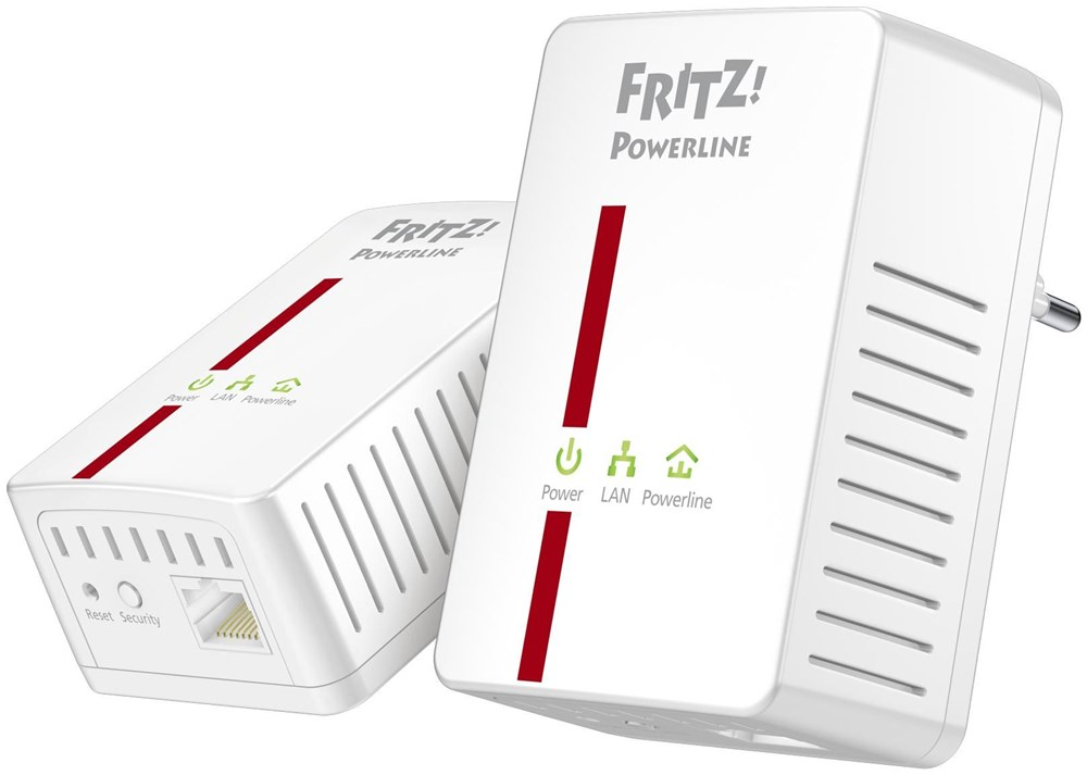 fritz powerline 500e software