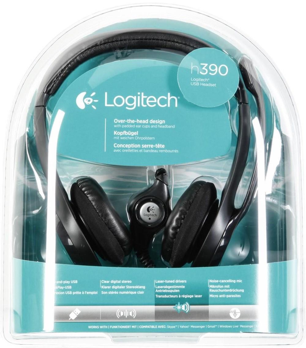 logitech usb headset h390 manual
