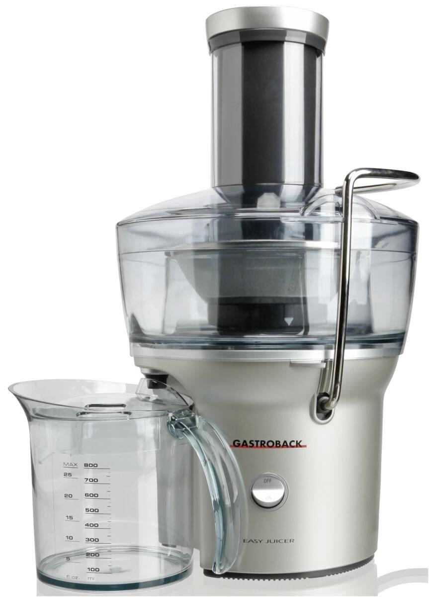 gastroback easy juicer entsafter silber  juicers  ~ Entsafter Juicer
