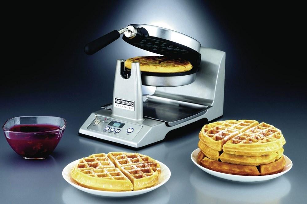 gastroback design advanced el silber waffle makers. Black Bedroom Furniture Sets. Home Design Ideas