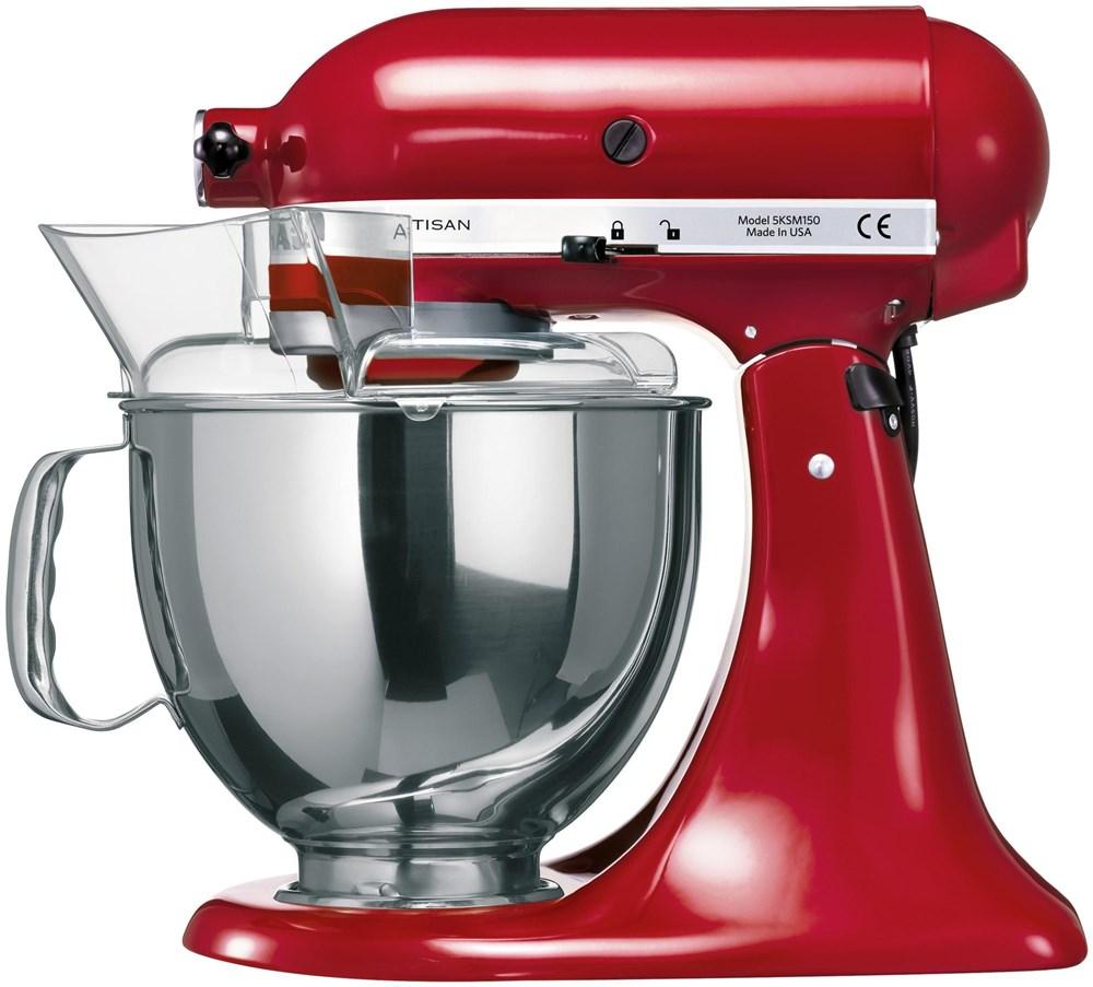 Kitchenaid küchenmaschine artisan rot 5ksm150pseer  KitchenAid Artisan 5KSM150PSEER Küchenmaschine empire rot ...